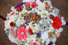 Vintage wedding brooch bridal broach bouquet by Rusticcreek