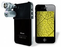 Cool Gadget!! Mini Microscope for iPhone..geek