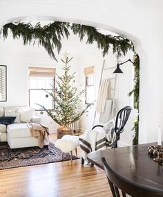 """1,015 Likes, 3 Comments - The Everygirl (@theeverygirl_) on Instagram: """"1) We're obsessed with this Nordic style tree in @francois_et_moi's living room . 2) In case you…"""""""