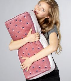 An ice cream sandwich pillow for when you need something sweet to cuddle. From Fred Flare.