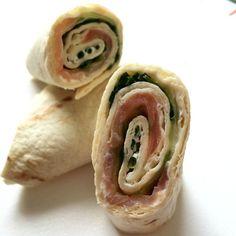 Wraps Saumon/Concombre St-Moret saumon fumé concombre ciboulette