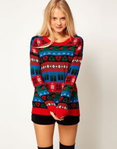 Perfect for my ugly sweater party... cause i actually think it is cute!