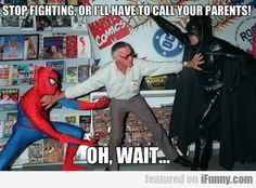 Stop Fighting Or I'll Have To Call Your Parents...