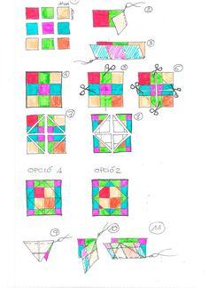 TUTORIAL PATCHWORK: EL BLOC MÀGIC #tutorial #patchwork #quilt
