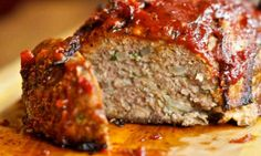 Balsamic-Glazed Lamb Meat Loaf: One bite of this meat loaf will convince you that it's one of the best you have ever tasted.