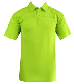 HOLLAS SOLID GOLF SHIRT LIME - FALL 2011