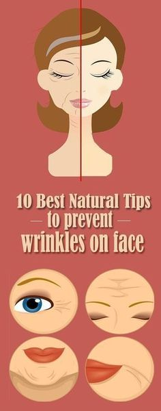 TOP 10 WAYS TO PREVENT WRINKLES NATURALLY #facecreamstop10