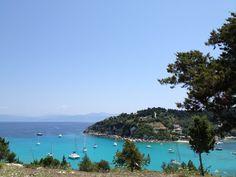 Laka,Paxos island,Greece