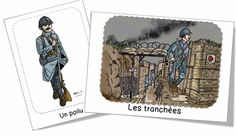Le 11 novembre 1918 (Bout de Gomme) Cycle 2, Thing 1, French Class, Remembrance Day, Social Studies, Kids Learning, World War, The Unit, Activities