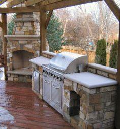 Outdoor Fireplace Ideas
