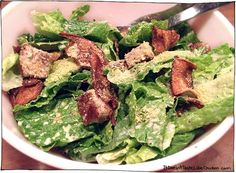 Vegan Caesar Salad - it doesn't taste like chicken