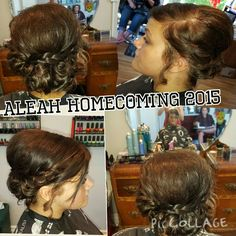 Simple updo great for prom or weddings