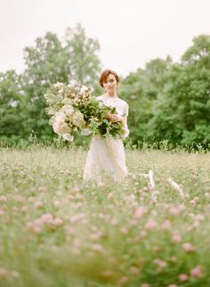 Spring meadow wedding inspiration   Wedding Sparrow