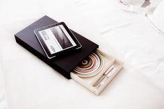 Minimalist objects family at www.designobject.it/ianus-tray/