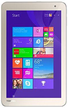 nice Toshiba Encore-2 Tablet, Intel Z3735F, 1.33 GHz, 64 GB, Intel-HD/IGP, Windows 8.1 Home-32 Bits, Satin Gold, 8
