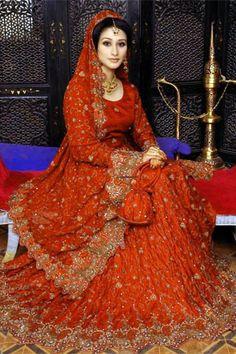 Pakistani Bridal Dresses | Dubai Amazing Fashion World: Pakistani Wedding Dresses