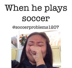 "Yes he was playing the other day while I was at practice...OMG I was like ""¡Dios ayúdame!"" This boy is Salvadoreño and can play soccer...I have no more words. @makeupforlife12 Sabes de quién hablo..."