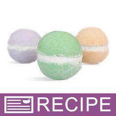 Macaron Inspired Bath Bomb Treats Recipe
