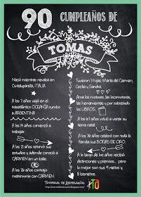 Ejemplo Pizarra para Festejos Adulto de Tutorial de Artesania Chalkboard Quotes, Art Quotes, Party, Ideas, Amor, Chalkboard Designs, Chalkboard Poster, Celebration, Banners