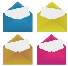 一番簡単な封筒テンプレート