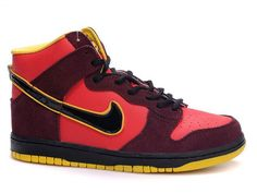 new arrival f1bc3 3d736 Nike Dunk Iron Man Shoes High Tops Cartoon Shoes, Nike High Tops, Nike Sb
