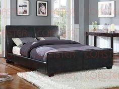Bed Frame Queen Black Queen Size