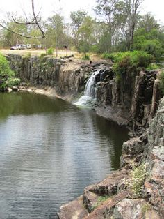 Tooloom Falls: you can camp right at the top or swim at the base Western Australia, Travel Around, Caravan, Fresh Water, Wilderness, Touring, Waterfall, National Parks, Survival