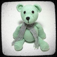 Chubby Bear Amigurumi Crochet PDF PATTERN by Exporium on Etsy