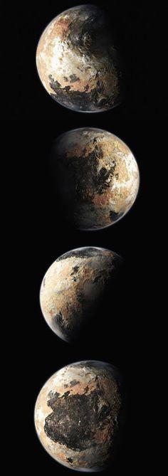 PLUTO 2015 Credits Nasa New Horizons WOW!