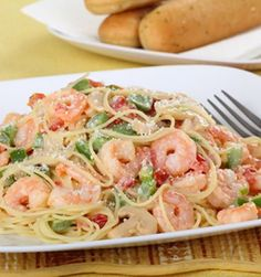 Shrimp and Pasta Recipes #pasta #recipes