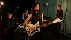"PJ Harvey performs ""The Last Living Rose"" PJ Harvey visits the Guardian studio for an exclusive live performance of The Last Living Rose from her recent album, Let England Shake."