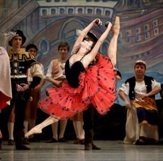 "Renata Shakirova, recent Vaganova Ballet Academy graduate, has debuted as Kitri in ""Don Quixote"" at the Mariinsky Theatre"