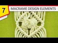 Design Elements - Rhomb with Josephine knot (DIY) - YouTube