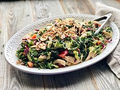Chinese Chopped Chicken Salad.