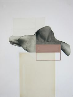Leigh Wells, mixed media on paper