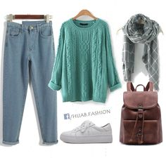 Turquoise For Days - Fall Outfit Idea
