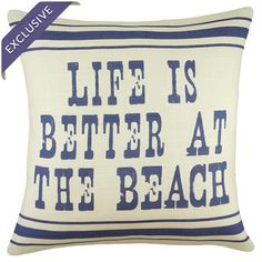 Linen pillow handmade in the USA.  Product: PillowConstruction Material: Linen coverColor: Ivory and ...