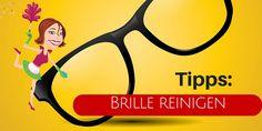 Wie bekommt man seine Brille richtig sauber? Hier sind einige Tipps: Brillenreiniger vom Optiker, Glasreiniger plus weiches Tuch, Mikrofasertuch, Spülmittel