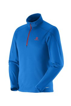 Salomon Atlantis Halfzip Longsleeve Herren surf dress blue