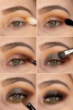 Duochromes Augen Make Up mit der Lethal Cosmetics Joline Eyeshadow Palette. Step by Step Augen Make Up Tutorial. Schminkanleitung für diesen intensiven Make Up Look für die Augen. AMU Inspiration für grüne Augen. #eyemakeup #augenmakeup #makeuplook