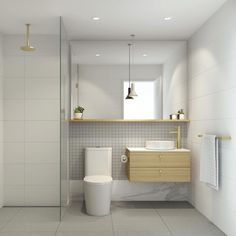 We are excited to see this bathroom come to life, designed for The Cotham Kew…
