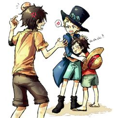 If I had brothers or sisters, I'll definitely be Luffy