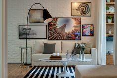 Fotografia do apartamento decorado Matriz Freguesia do Ó, São Paulo. ©Even Construtora e Incorporadora