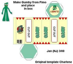 Gumby... reminds me that I did this years ago for my brother Don.