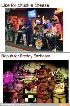 Always for Freddy's.