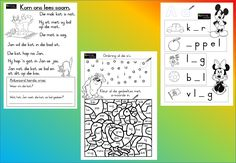 A-woorde Werkkaart - Teacha! Worksheets For Kids, Kindergarten Worksheets, Teaching Math, Teaching Resources, Afrikaans Language, Handwriting Practice Sheets, Educational Crafts, Alphabet For Kids, Free Graphics