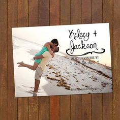 Fun Wedding Save the Date Magnets or Cards on Etsy, $15.00