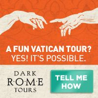 Q7blog:Dark Rome Ltd. Fun Vatican Tour? - Home Page Link  Looking for fun things to do in Rome? Book things to do in Venice