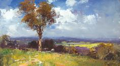 Ken Knight is an amazing Plein Air artist.  Having just discovered Ken, I am really enjoying collecting images of his paintings.