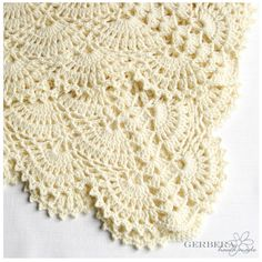 Vanilla Baby Afghan - Crochet Blanket